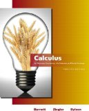 Portada de CALCULUS FOR BUSINESS, ECONOMICS, LIFE SCIENCES AND SOCIAL SCIENCES (12TH EDITION) (BARNETT) 12TH (TWELFTH) EDITION BY BARNETT, RAYMOND A., ZIEGLER, MICHAEL R., BYLEEN, KARL E. (2010)