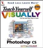 Portada de TEACH YOURSELF VISUALLY PHOTOSHOP CS BY WOOLDRIDGE, MIKE (2003) PAPERBACK