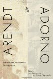 Portada de ARENDT AND ADORNO: POLITICAL AND PHILOSOPHICAL INVESTIGATIONS (2012-06-15)