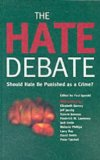 Portada de THE HATE DEBATE: SHOULD HATE BE PUNISHED AS A CRIME? BY JPR (4-APR-2002) PAPERBACK