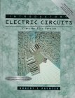Portada de INTRODUCTORY ELECTRIC CIRCUITS: CONVENTIONAL FLOW VERSION BY ROBERT T. PAYNTER (1998-10-05)