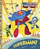 Portada de SUPERMAN! (DC SUPER FRIENDS) (LITTLE GOLDEN BOOK) BY BILLY WRECKS (2013-01-08)