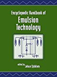Portada de [(ENCYCLOPEDIC HANDBOOK OF EMULSION TECHNOLOGY)] [EDITED BY JOHAN SJOBLOM] PUBLISHED ON (MARCH, 2001)