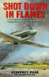 Portada de SHOT DOWN IN FLAMES BY GEOFFREY PAGE (31-MAY-1999) PAPERBACK