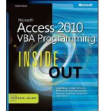 Portada de [(MICROSOFT ACCESS 2010: VBA PROGRAMMING INSIDE OUT)] [BY: ANDREW COUCH]