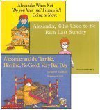 Portada de ALEXANDER 3-BOOK SET: ALEXANDER AND THE TERRIBLE, HORRIBLE, NO GOOD, VERY BAD DAY; ALEXANDER WHO'S N BY JUDITH VIORST (2008-01-01)