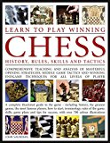 Portada de LEARN TO PLAY WINNING CHESS :HISTORY, RULES, SKILLS AND TACTICS - COMPREHENSIVE TEACHING AND ANALYSIS OF MASTERFUL OPENING STRATEGIES, MIDDLE GAME - A COMPLETE ILLUSTRATED GUIDE TO THE GAME BY JOHN SAUNDERS (1-JUL-1905) PAPERBACK