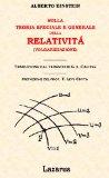 Portada de SULLA TEORIA SPECIALE E GENERALE DELLA RELATIVITÀ (VOLGARIZZAZIONE) (RIST. ANASTATICA 1921)