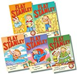 Portada de FLAT STANLEY COLLECTION ? 5 BOOKS RRP £24.95 (STANLEY AND THE MAGIC LAMP; THE JAPANESE NINJA SURPRISE; THE BIG MOUNTAIN ADVENTURE; THE GREAT EGYPTIAN GRAVE ROBBERY; STANLEY'S CHRISTMAS ADVENTURE)