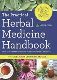 Portada de THE PRACTICAL HERBAL MEDICINE HANDBOOK: YOUR QUICK REFERENCE GUIDE TO HEALING HERBS & REMEDIES BY ALTHEA PRESS (2014) PAPERBACK
