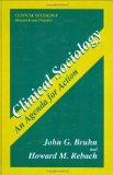 Portada de AN AGENDA FOR ACTION (CLINICAL SOCIOLOGY: RESEARCH AND PRACTICE) 1ST EDITION BY BRUHN, JOHN G., REBACH, HOWARD M. (1996) HARDCOVER