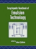 Portada de ENCYCLOPEDIC HANDBOOK OF EMULSION TECHNOLOGY BY CRC PRESS (2001-03-16)