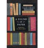 Portada de [(A POUND OF PAPER)] [AUTHOR: JOHN BAXTER] PUBLISHED ON (APRIL, 2005)