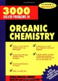 Portada de 3000 SOLVED PROBLEMS IN ORGANIC CHEMISTRY (SCHAUM'S SOLVED PROBLEMS SERIES) BY HERBERT MEISLICH (1-OCT-1993) PAPERBACK