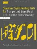 Portada de SPECIMEN SIGHT-READING TESTS FOR TRUMPET AND BRASS BAND INSTRUMENTS GRADES 6-8