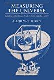 Portada de MEASURING THE UNIVERSE: COSMIC DIMENSIONS FROM ARISTARCHUS TO HALLEY BY ALBERT VAN HELDEN (1986-09-15)