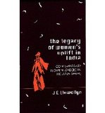 Portada de [( THE LEGACY OF WOMEN'S UPLIFT IN INDIA: CONTEMPORARY WOMEN LEADERS IN THE ARYA SAMAJ )] [BY: J. E. LLEWELLYN] [SEP-1998]