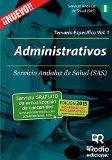 Portada de ADMINISTRATIVOS DEL SAS. TEMARIO ESPEC?-FICO. VOLUMEN 1 BY VV.AA. VV.AA (2015-02-19)