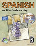Portada de SPANISH IN 10 MINUTES A DAY? WITH CD-ROM BY KERSHUL, KRISTINE K. 6TH (SIXTH), WITH CD-ROM (2010) PAPERBACK