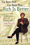 Portada de I'VE BEEN RICH, I'VE BEEN POOR, RICH IS BETTER BY JUDY RESNICK (1999-11-02)