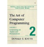 Portada de [(THE ART OF COMPUTER PROGRAMMING: COMBINATORIAL ALGORITHMS VOLUME 4, FASCICLE 2: GENERATING ALL TUPLES AND PERMUTATIONS)] [BY: DONALD E. KNUTH]