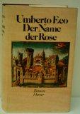 Portada de DER NAME DER ROSE