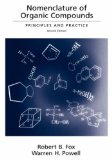 Portada de NOMENCLATURE OF ORGANIC COMPOUNDS: PRINCIPLES AND PRACTICE (AMERICAN CHEMICAL SOCIETY PUBLICATION) BY AMERICAN CHEMICAL SOCIETY (2001-05-03)