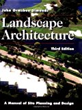 Portada de LANDSCAPE ARCHITECTURE: A MANUAL OF SITE PLANNING AND DESIGN BY JOHN O. SIMONDS (1997-09-01)