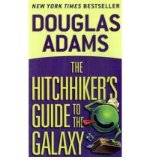 Portada de (THE HITCHHIKER'S GUIDE TO THE GALAXY) BY ADAMS, DOUGLAS (AUTHOR) MASS_MARKET ON (09 , 1995)