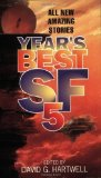 Portada de YEAR'S BEST SF 5 BY HARTWELL, DAVID G. PUBLISHED BY HARPER VOYAGER (2000)