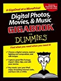 Portada de DIGITAL PHOTOS, MOVIES, AND MUSIC GIGABOOKFOR DUMMIES BY CHAMBERS, MARK L., BOVE, TONY, BUSCH, DAVID D., DOUCETTE, MA (2004) PAPERBACK