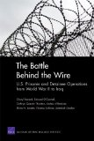 Portada de THE BATTLE BEHIND THE WIRE: U.S. PRISONER AND DETAINEE OPERATIONS FROM WORLD WAR II TO IRAQ BY BENARD, CHERYL, O'CONNELL, EDWARD O., THURSTON, CATHRYN QUAN (2011) PAPERBACK