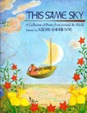 Portada de THIS SAME SKY: A COLLECTION OF POEMS FROM AROUND THE WORLD BY NYE, NAOMI SHIHAB [1992]