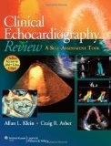 Portada de CLINICAL ECHOCARDIOGRAPHY REVIEW: A SELF-ASSESSMENT TOOL 1 PAP/PSC (2011) PAPERBACK