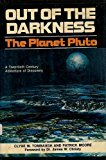Portada de OUT OF THE DARKNESS: THE PLANET PLUTO BY CLYDE WILLIAM TOMBAUGH (1980-08-02)