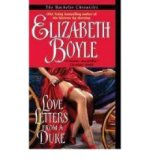 Portada de [LOVE LETTERS FROM A DUKE] [BY: ELIZABETH BOYLE]