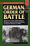 Portada de GERMAN ORDER OF BATTLE: 291ST-999TH INFANTRY DIVISIONS, NAMED INFANTRY DIVISIONS, AND SPECIAL DIVISIONS IN WWII (STACKPOLE MILITARY HISTORY SERIES) BY SAMUEL W. MITCHAM JR. (2007-08-14)