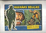 Portada de HAZAÑAS BELICAS AZULES NUMERO 012: LONDRES EN LLAMAS-HOMBRES DE HIELO-