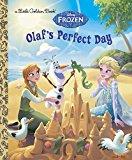 Portada de OLAF'S PERFECT DAY (DISNEY FROZEN) (LITTLE GOLDEN BOOK) BY JESSICA JULIUS (2015-07-28)