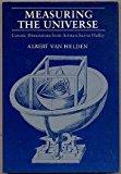 Portada de MEASURING THE UNIVERSE: COSMIC DIMENSIONS FROM ARISTARCHUS TO HALLEY BY ALBERT VAN HELDEN (1985-04-30)