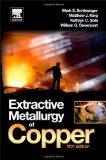 Portada de EXTRACTIVE METALLURGY OF COPPER, FIFTH EDITION 5TH EDITION BY SCHLESINGER, MARK E., KING, MATTHEW J., SOLE, KATHRYN C., DA (2011) HARDCOVER