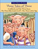 Portada de THREE TALES OF THREE (ONCE-UPON-A-TIME) BY MARILYN HELMER (2000-10-01)