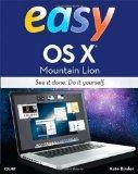Portada de EASY OS X MOUNTAIN LION BY BINDER, KATE [12 SEPTEMBER 2012]