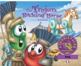 Portada de THE TROJAN ROCKING HORSE - VEGGIETALES MISSION POSSIBLE ADVENTURE SERIES #6: PERSONALIZED FOR AMY