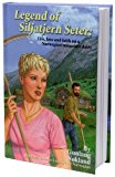 Portada de LEGEND OF SILJATJERN SETER: LIFE, LOVE AND FAITH ON A NORWEGIAN MOUNTAIN DAIRY, BILINGUAL NOVEL IN ENGLISH AND NORWEGIAN BY GUNLAUG NÃŽKLAND (2007-01-01)
