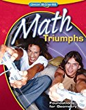 Portada de MATH TRIUMPHS--FOUNDATIONS FOR GEOMETRY (MERRILL GEOMETRY) BY MCGRAW-HILL EDUCATION (2009) PAPERBACK