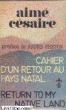 Portada de CAHIER D'UN RETOUR AU PAYS NATAL