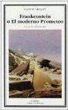 Portada de FRANKENSTEIN O EL MODERNO PROMETEO: 230 (LETRAS UNIVERSALES) DE SHELLEY, MARY W. (2005) TAPA BLANDA