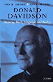 Portada de DONALD DAVIDSON: MEANING, TRUTH, LANGUAGE, AND REALITY BY ERNEST LEPORE (2007-03-29)