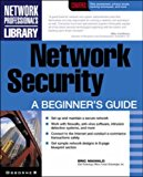 Portada de NETWORK SECURITY: A BEGINNER'S GUIDE (NETWORK PROFESSIONAL'S LIBRARY) BY ERIC MAIWALD (1-MAY-2001) PAPERBACK